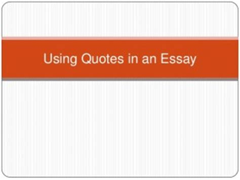 Citing movies in an essay